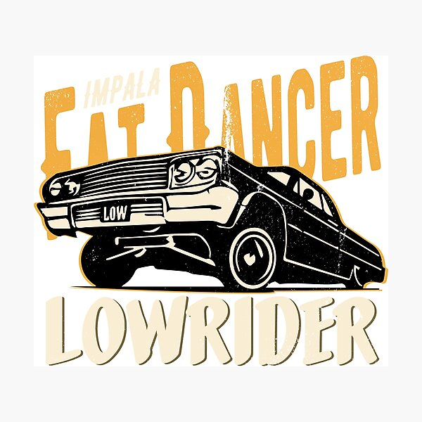 Impala Lowrider - Fat Dancer Photographic Print
