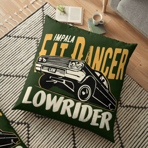 Impala Lowrider - Fat Dancer Floor Pillow