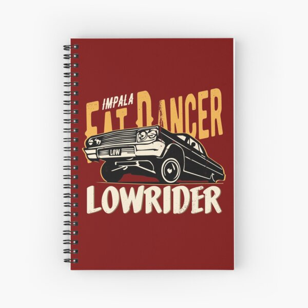 Impala Lowrider - Fat Dancer Spiral Notebook