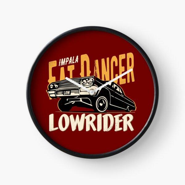 Impala Lowrider - Fat Dancer Clock