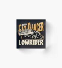 Impala Lowrider - Fat Dancer Acrylblock