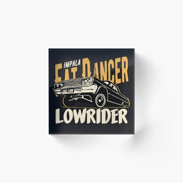 Impala Lowrider - Fat Dancer Acrylic Block