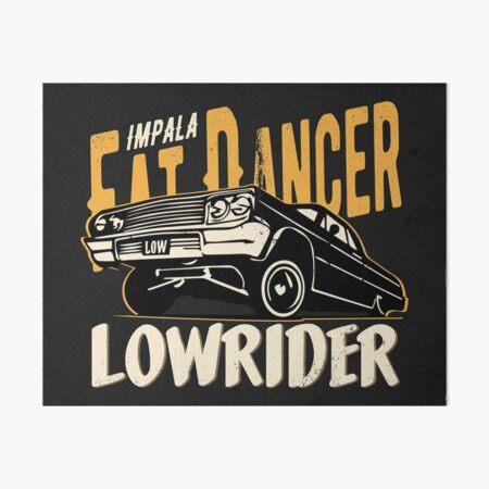 Impala Lowrider - Fat Dancer Art Board Print