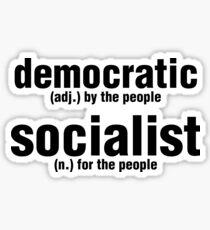 Democratic Socialism Sticker