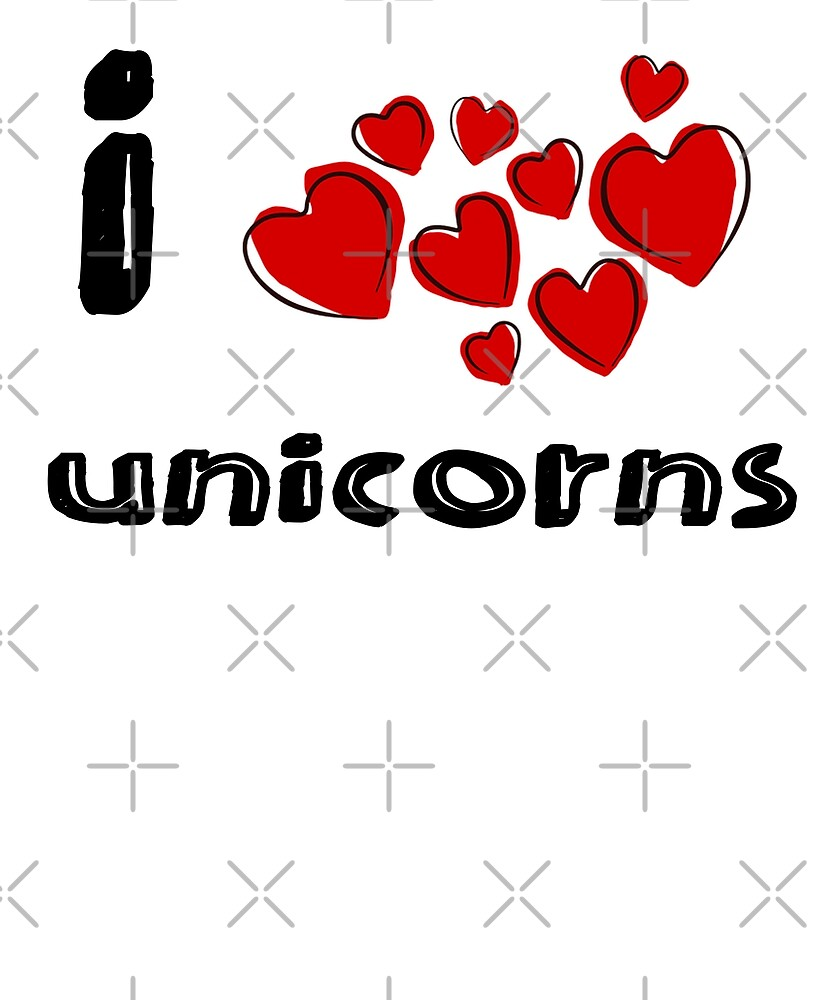 I love Unicorns by Energetic-Mind