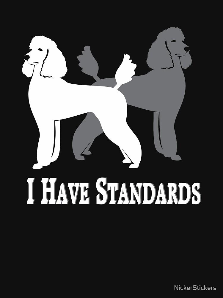 Tengo estándares | Caniches estándar | NickerStickers en Redbubble de NickerStickers