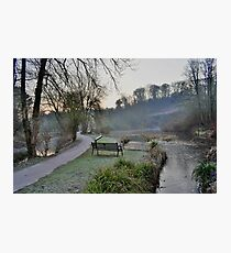 Ninesprings Country Park Yeovil Somerset in HDR Photographic Print