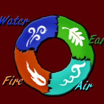 Earth,Air,Fire,Water  by KamiC36