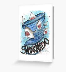 Sharknado Greeting Card