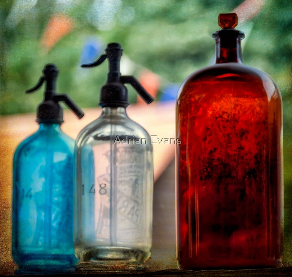 Victorian Soda Syphons by Adrian Evans