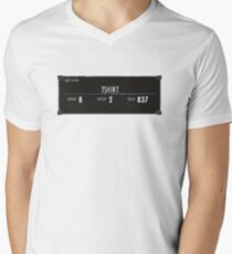 Tshirt! Mens V-Neck T-Shirt