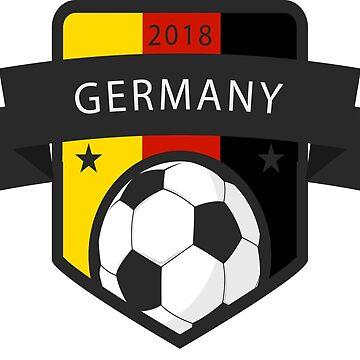 Germany Soccer 2018  by izikil