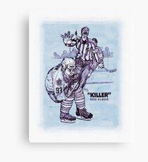 """""""Killer"""" Doug Gilmour Canvas Print"""