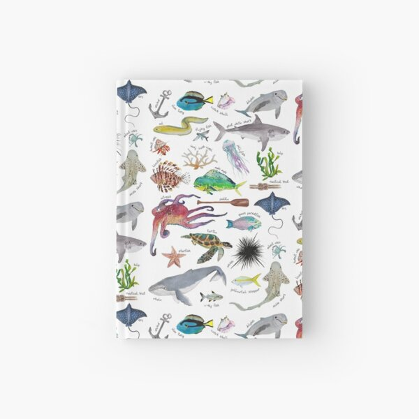 Under the Sea Alphabet Hardcover Journal