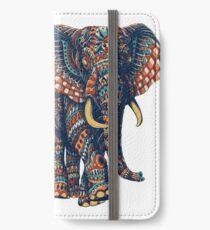 Ornate Elephant v2 (Color Version) iPhone Wallet/Case/Skin