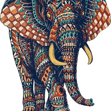 Ornate Elephant v2 (Color Version) by BioWorkZ