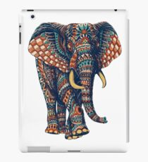 Ornate Elephant v2 (Color Version) iPad Case/Skin