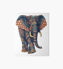 Verzierter Elefant v2 (Farbversion) Galeriedruck