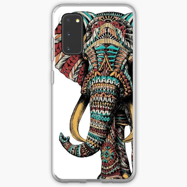 Ornate Elephant (Color Version) Samsung Galaxy Soft Case