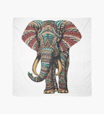 Ornate Elephant (Color Version) Scarf