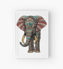 Ornate Elephant (Color Version) Hardcover Journal