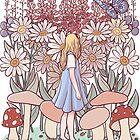 Alice in Wonderland by adelaydeart