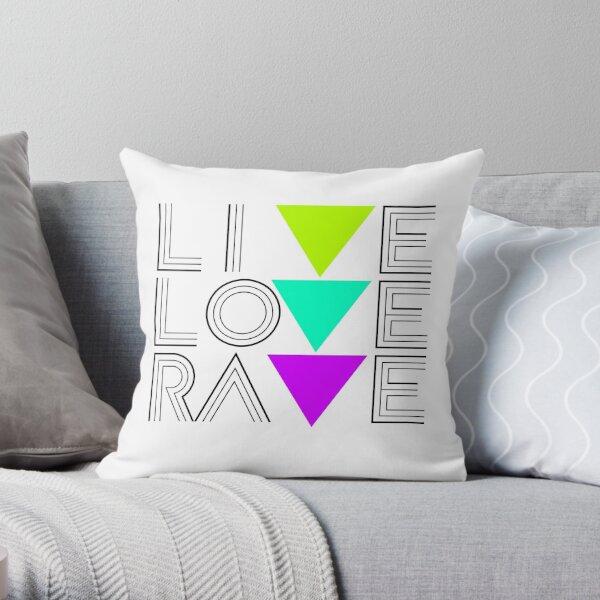 Live Love Rave Dekokissen
