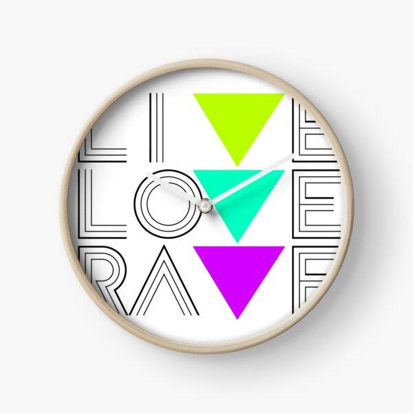 Live Love Rave Uhr