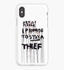 ARTIST PLEDGE iPhone Case
