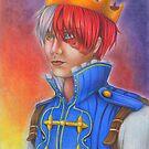 Prince Todoroki - BNHA by yammybonbon