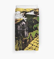 the moody hills Duvet Cover