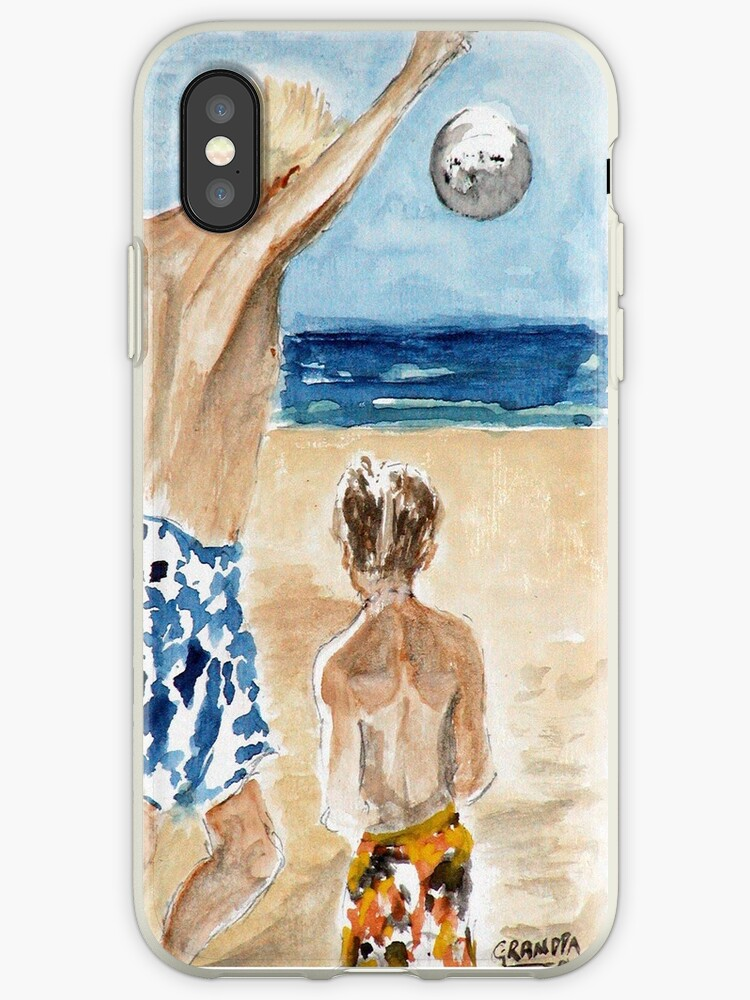 Dad & Noah - IPhone Case by Rob Beilby