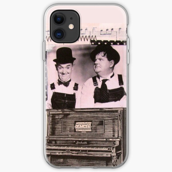 The Music Box (Laurel and Hardy) iPhone Soft Case