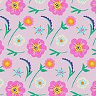 Spring Flowers (Pretty Pink) by Catalina Villegas