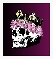 The Skull Queen v2 Photographic Print