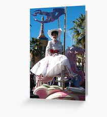 mary poppins Greeting Card