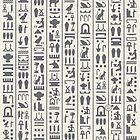Mixed Hieroglyphic Pattern by maroondawta