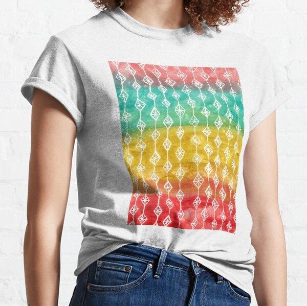 Mid Century Modern Diamond Pattern Classic T-Shirt