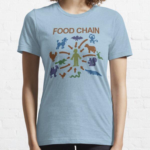 Food Chain – Lisa The Vegetarian Essential T-Shirt