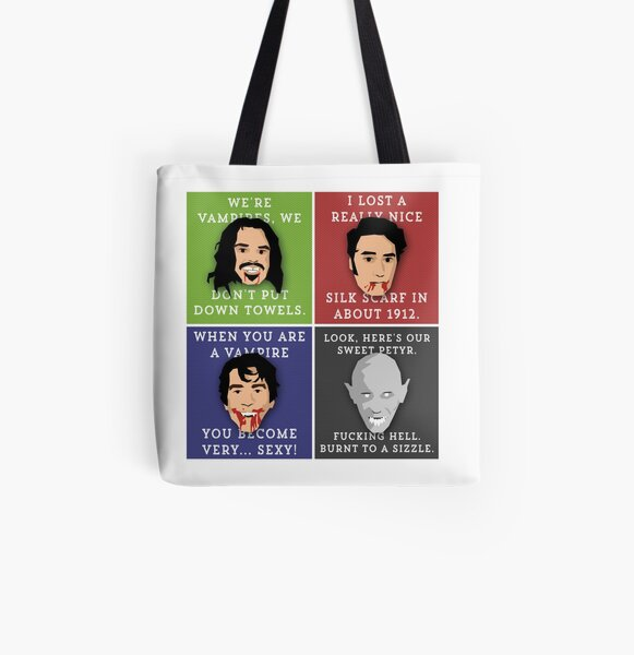 What We Do In The Shadows Collage All Over Print Tote Bag