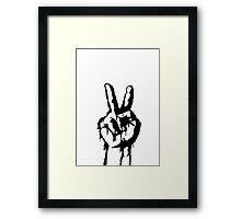 V for Vandalism... Framed Print