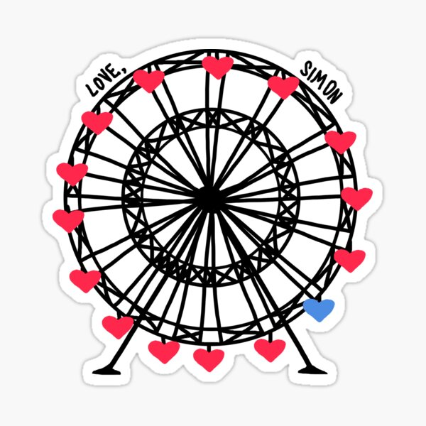 love, simon Sticker