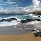 Bay Steinigidh. Clearing Skies. Scarista. Isle of Harris. Scotland. by PhotosEcosse