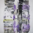 empty Can that makes the Noise, abstract painting  by Dmitri Matkovsky