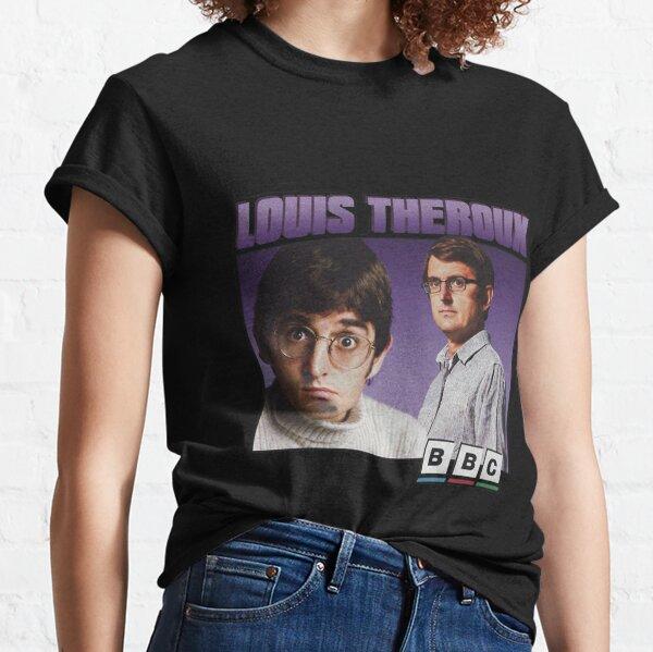 Louis Funny Joke Gift I Gotta Get Theroux This Mens Long Sleeve Baseball Shirt