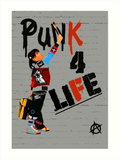 """Punky """"Punk 4 Life"""" Brewster by Faction"""