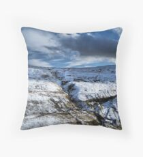 On the top of the Buttertubs pass Throw Pillow