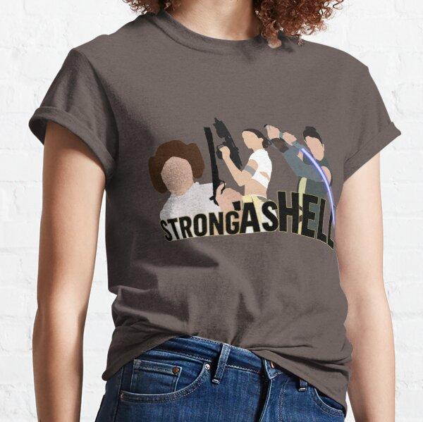 Strong as Hell (Galactic Gals Version) Classic T-Shirt