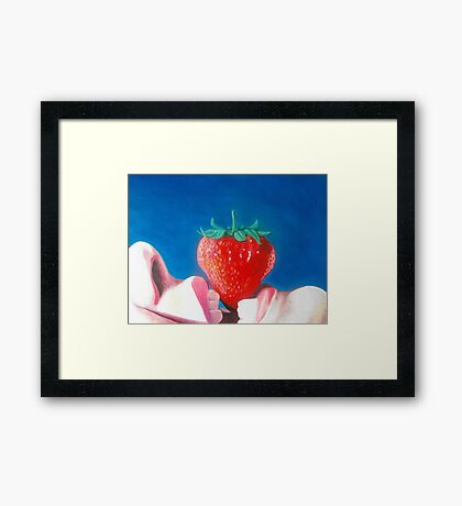 Passion fruit #1 Framed Print