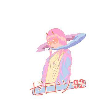 Zero 2 Blazed  - Vaporwave / anime by Ojouka